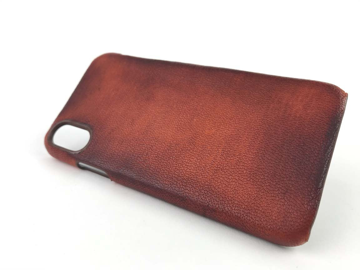 leather iphone xr case, iphone xs max case old brown kaseta