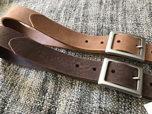 leather dark brown soft woman ladies unisex men belt