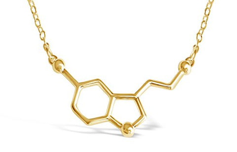 Serotonin Molecule Necklace - Firefly Marketplace