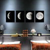Image of Moon Phases Oil Paintings - Firefly Marketplace