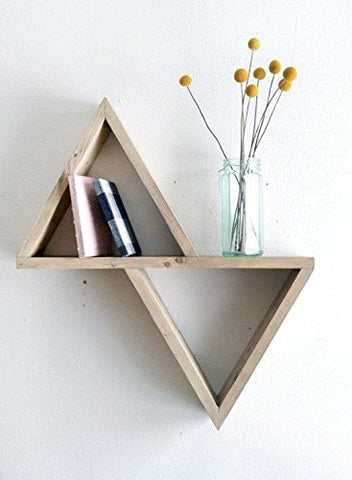 Triangular Floating Shelf - Firefly Marketplace