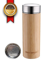 Bamboo Tumbler w/Removable Tea Infuser