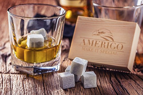 Whiskey Stones Gift Set + Free Ebook - Firefly Marketplace
