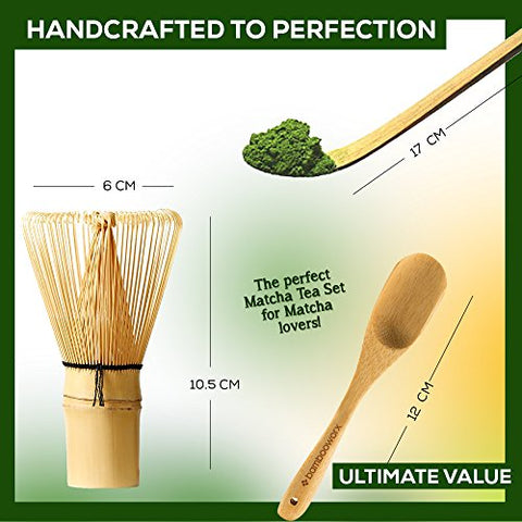 Bamboo Japanese Matcha Tea Set - Firefly Marketplace