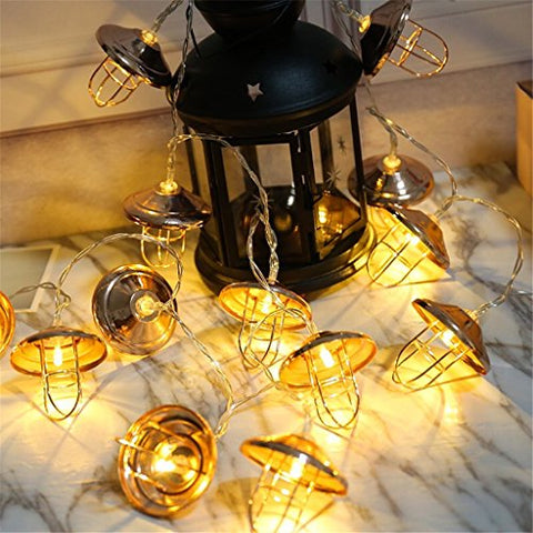 Vintage Lantern String Lights