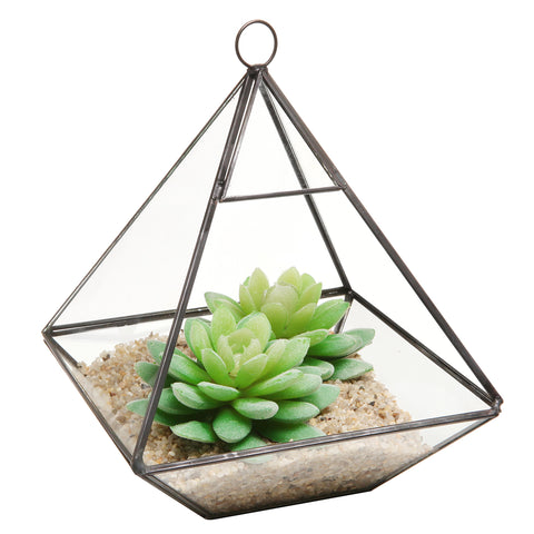 Hanging Prism Plant Terrarium - Firefly Marketplace