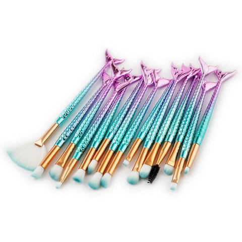Mermaid MakeUp Brushes - Firefly Marketplace
