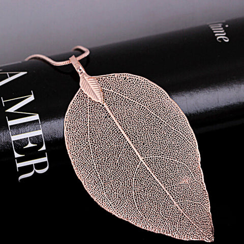 Leaf Pendant Necklace - Firefly Marketplace