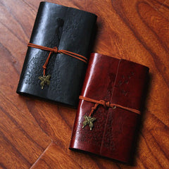 Madam Butterfly Leather Journal