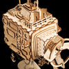 Image of Steampunk 3D Submarine Puzzle & Music Box