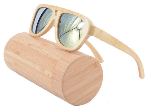 100% Recycled Bamboo Sunglasses