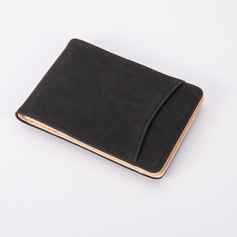 Minimalist Leather Magnet Wallet - Firefly Marketplace