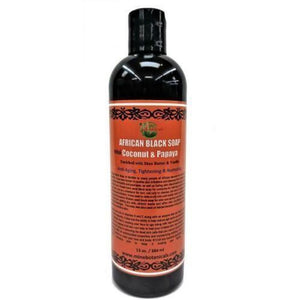 African Black Soap Coconut And Papaya (Liquid)