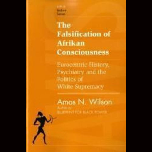 Amos Wilson The Falsification Of Afrikan Cons Dvds & Blu-Ray Discs