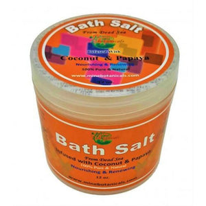Bath Salt Infused With Coconut & Papaya