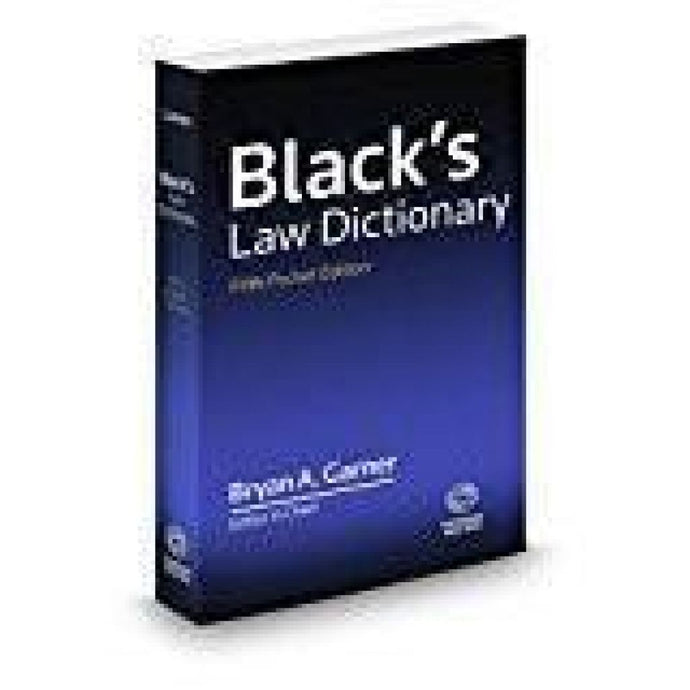 Blacks Law Dictionary Fifth Pocket Edition Books