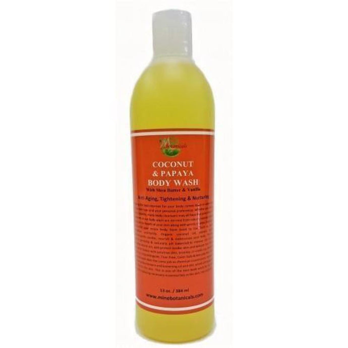 Coconut And Papaya Body Wash