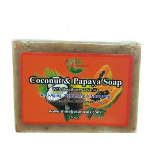 Coconut And Papaya Soap