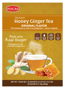 Pocas Honey Ginger Tea