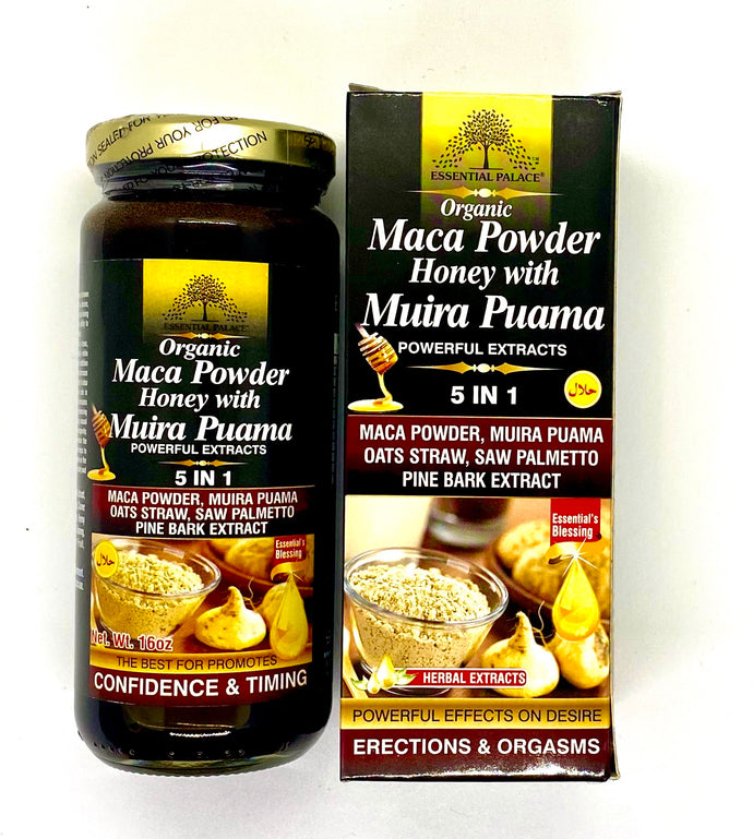 Maca Powder Honey with Muira Puama