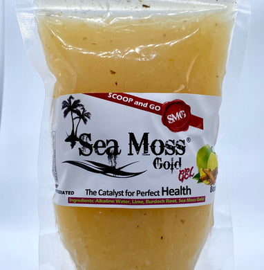 SEA MOSS GOLD w/ LIME AND BURDOCK ROOT