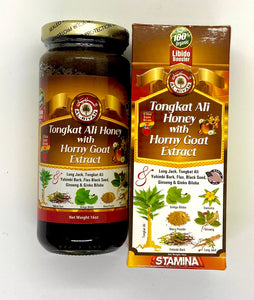 Tongkat Ali Honey with Horny Goat Extract