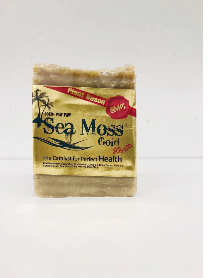 SEA MOSS GOLD INFUSED COCO PAW PAW SOAP