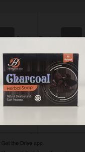 Charcoal Herbal Soap
