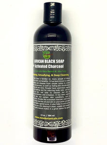 Activated Charcoal Liquid Black Soap