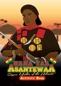 Nana Yaa Asantewaa Activity Books