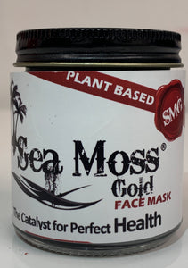 SEA MOSS GOLD FACE MASK INFUSED WITH ACTIVATED CHARCOAL & ALOE VERA