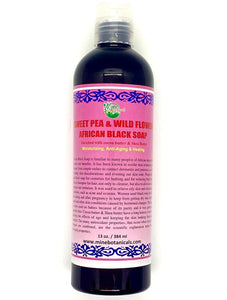 Sweet Pea And Wildflower African Black Soap