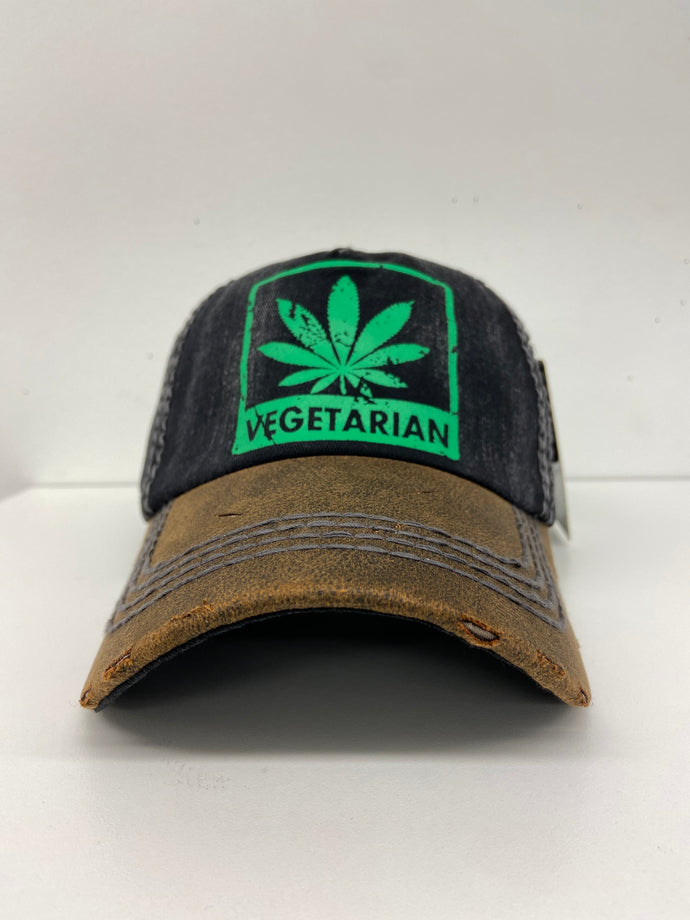 VEGETARIAN DAD HAT