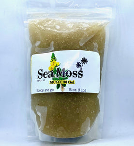 MULLEIN Sea Moss Gold Gel