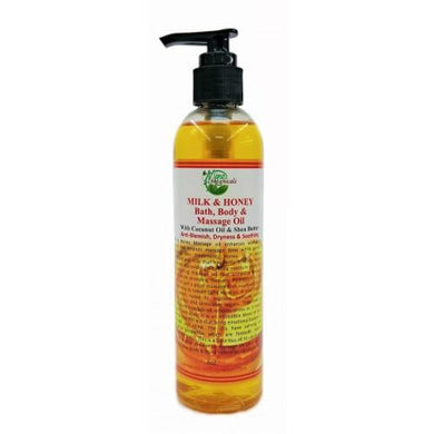 Milk And Honey Bath Body Massage Oil