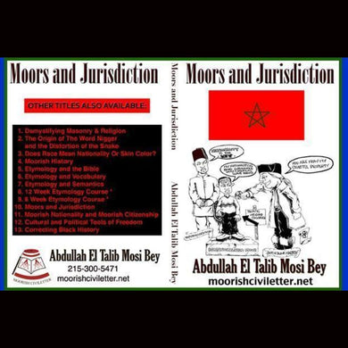 Moors And Jurisdiction