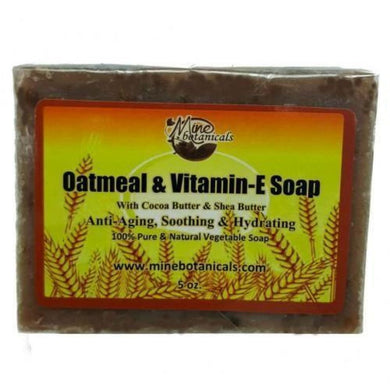 Oatmeal And Vitamin E Soap
