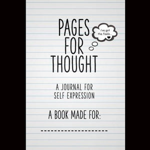 Pages For Thought:: A Journal For Self Expression Paperback