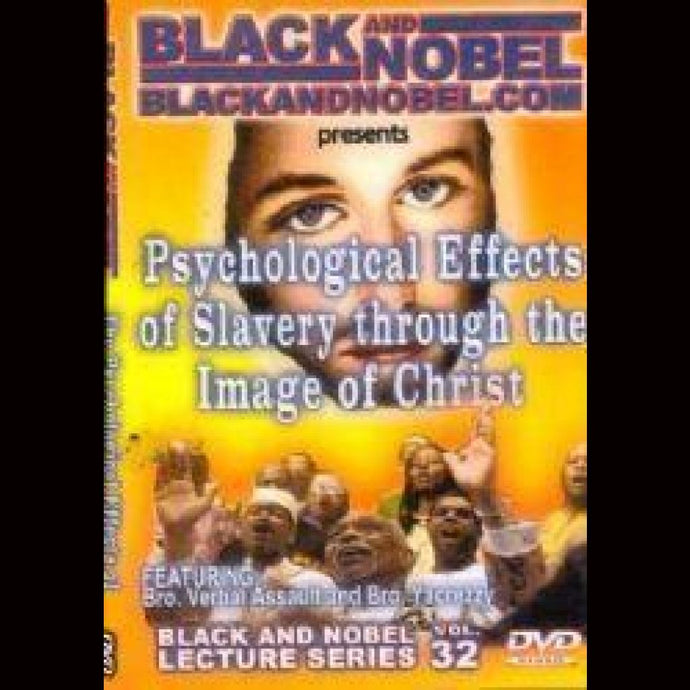 Psychological Effects Of Slavery Through The Image Christ