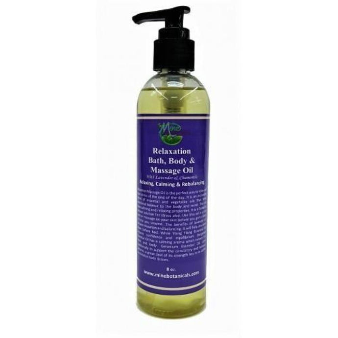 Relaxation Bath Body And Massage Oil