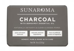 Sunaroma Charcoal Body Bar