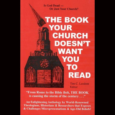 The Book Your Church Doesnt Want You To Read Volume One Paperback From $24.99