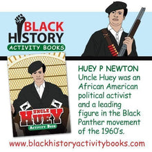 Uncle Huey Activity Book