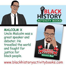 Uncle Malcolm Activity Books