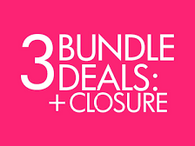 3 Bundles & Lace Closure Sale