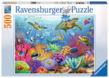 Ravensburger 14661: Tropical Waters (500 Piece Jigsaw Puzzle)-Kidding Around NYC