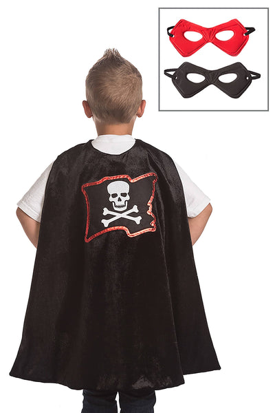 Pirate Cape and Mask Set Ages 3-8