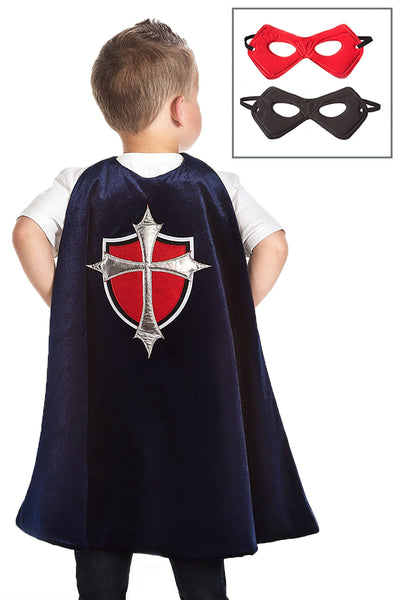 Prince Cape And Mask Set Ages 3-8