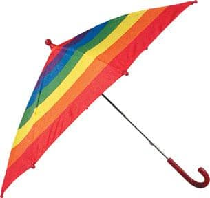 Umbrella - Rainbow-Kidding Around NYC