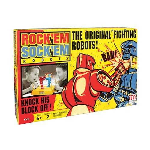 Rock 'Em Sock 'Em Robots-Kidding Around NYC